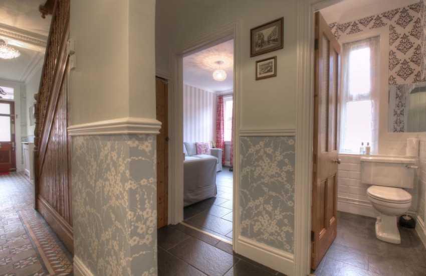Victorian town house Aberystwyth - hall