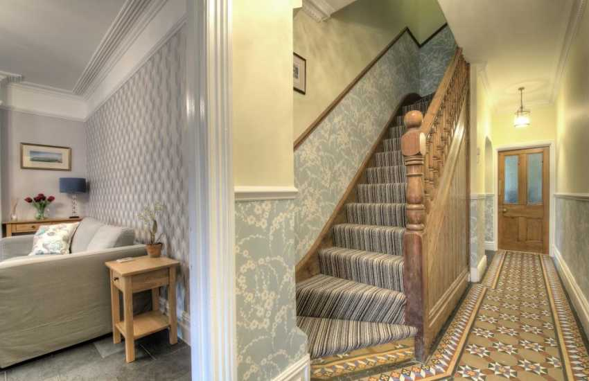 Holiday cottage Aberystwyth - stairs