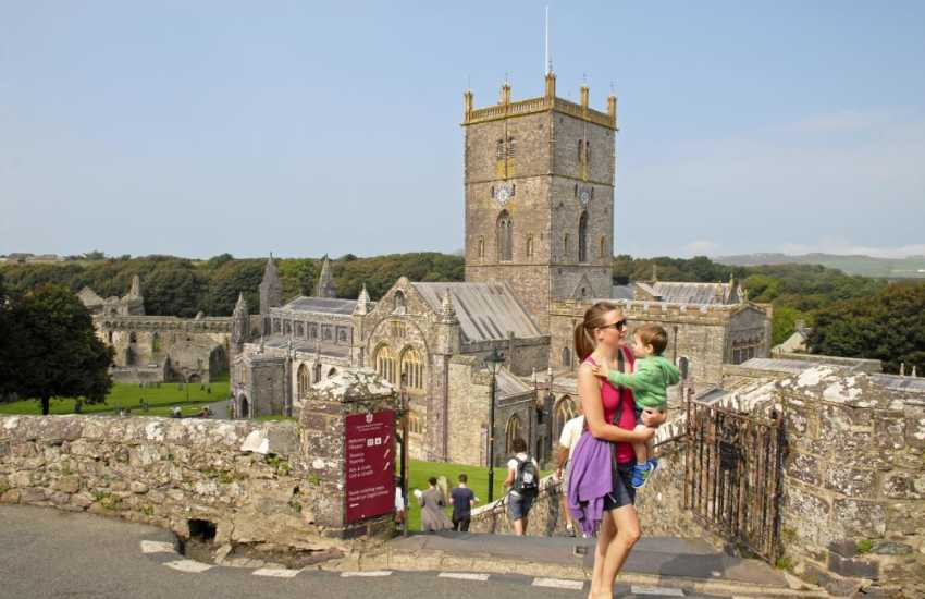 12th century St Davids Cathedral lies in the heart of Britain's smallest city and a 'must' to visit whilst on holiday