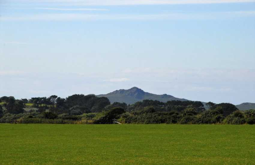 Enjoy far reaching views to Carn Llidi on the St Davids Peninsula
