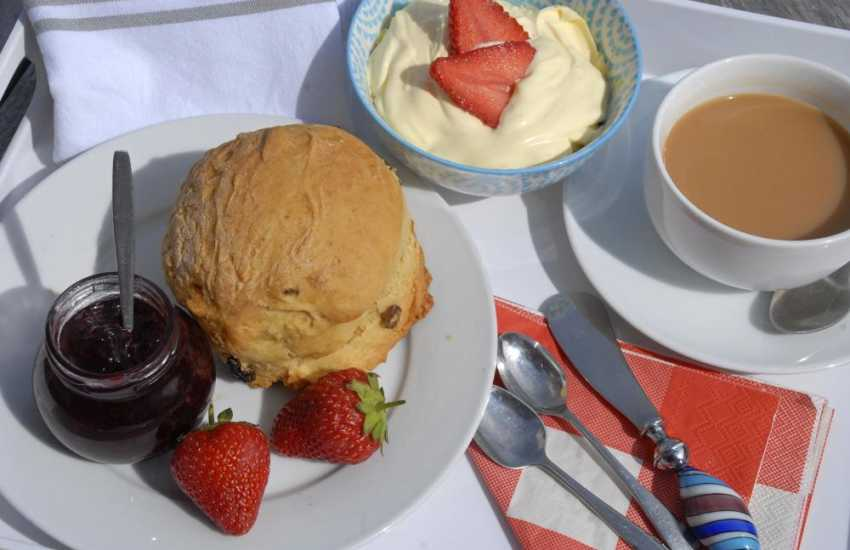 Try the Old Pharmacy for delicious freshly prepared meals and good old fashioned cream teas