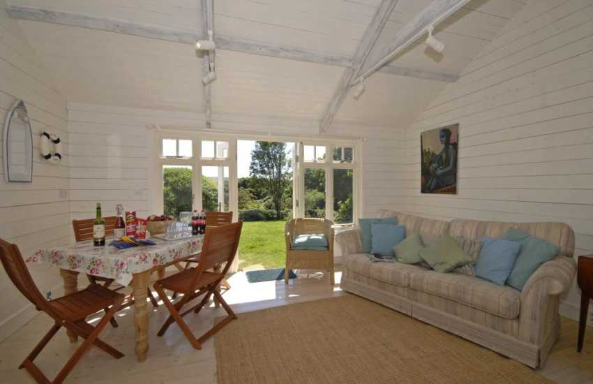 Summer chalet at Manorbier Boat House