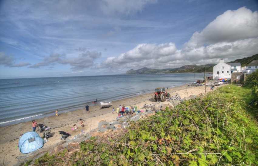 The beach at Morfa Nefyn