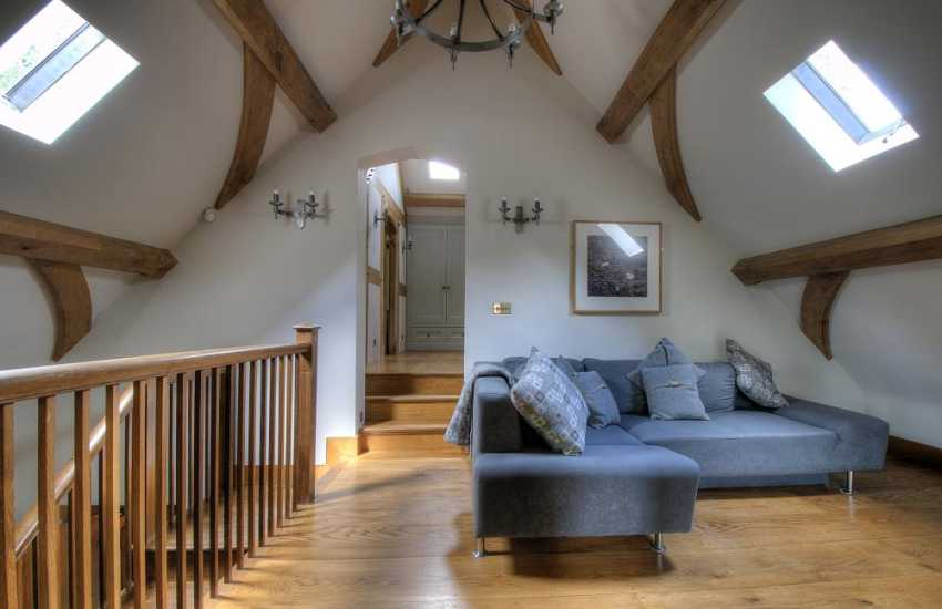 Luxury holiday house Brecon Beacons - sitting room
