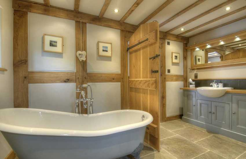Luxury holiday house Brecon Beacons - bathroom