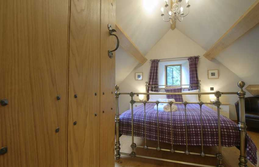 Luxury holiday house Brecon Beacons - bedroom