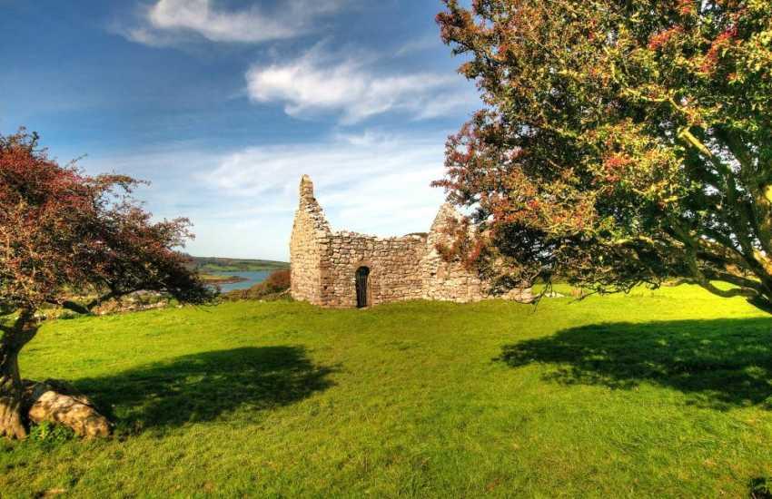 12th Century Capel Lligwy near Din Lligwy, Anglesey