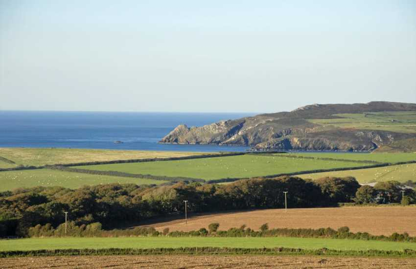 Views to Strumble Head from just over the road