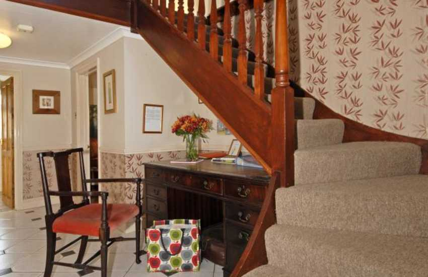 North Pembrokeshire family home for rent - entrance hall