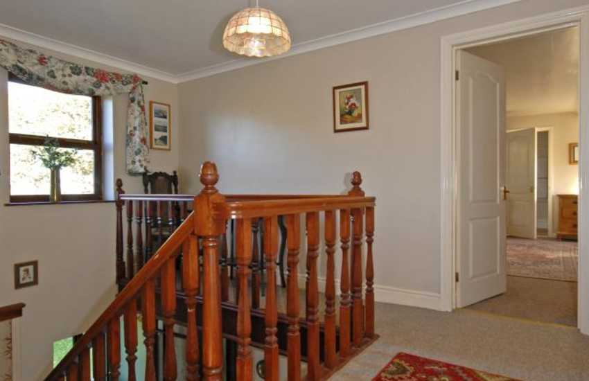 North Pembrokeshire family home for rent - upstairs landing