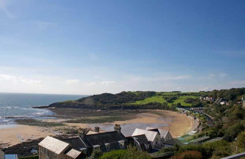 View of Langland Bay