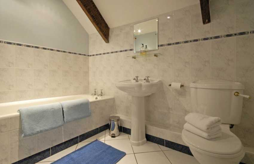 Pembrokeshire coastal holiday home - first floor family bathroom