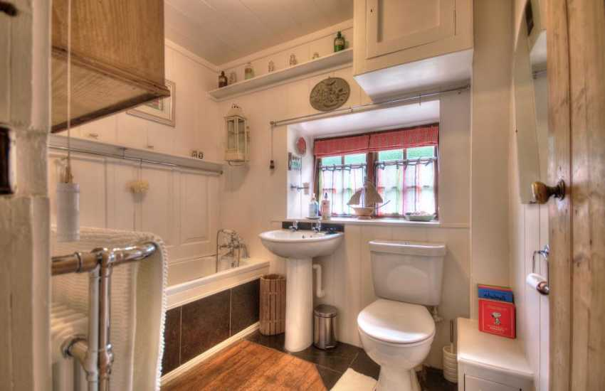 Snowdonia holiday cottage - bathroom