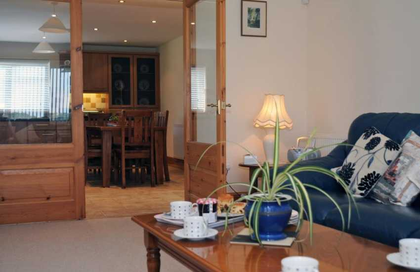Rural holiday house Lleyn Peninsula - lounge
