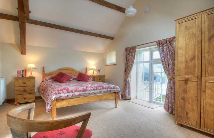 Hells Mouth holiday cottage Wales - bedroom