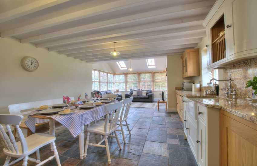 Holiday cottage 4 bedrooms North Wales - kitchen