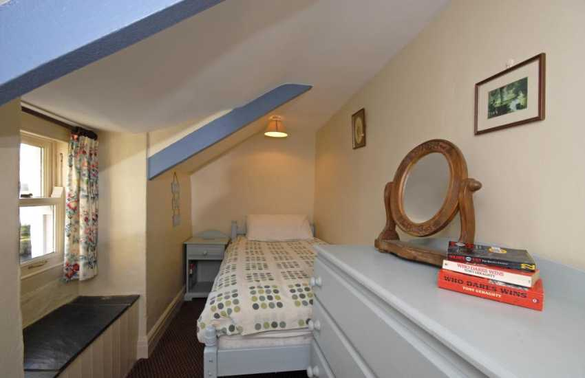 Whitesands Beach (Blue Flag) holiday cottage - single with sea views