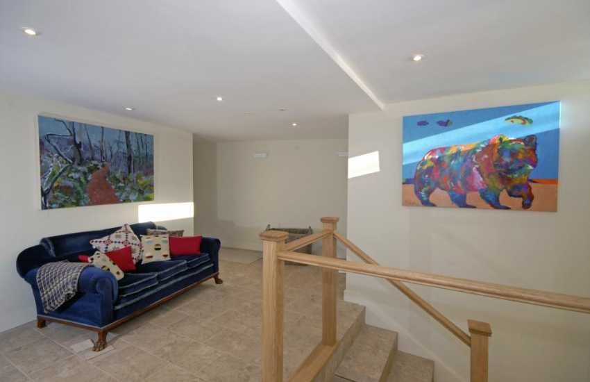 Coastal Pembrokeshire holiday home - entrance hall