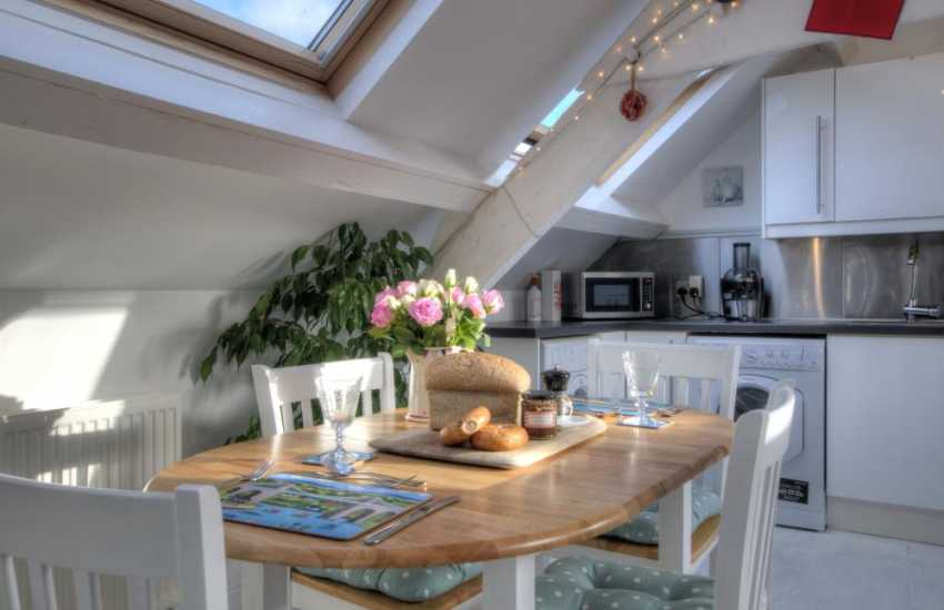 Holiday cottage for two in Wales-dining