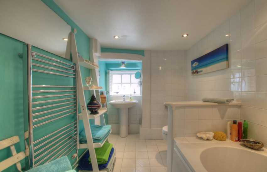 Romantic cottage by the sea Wales - bathroom