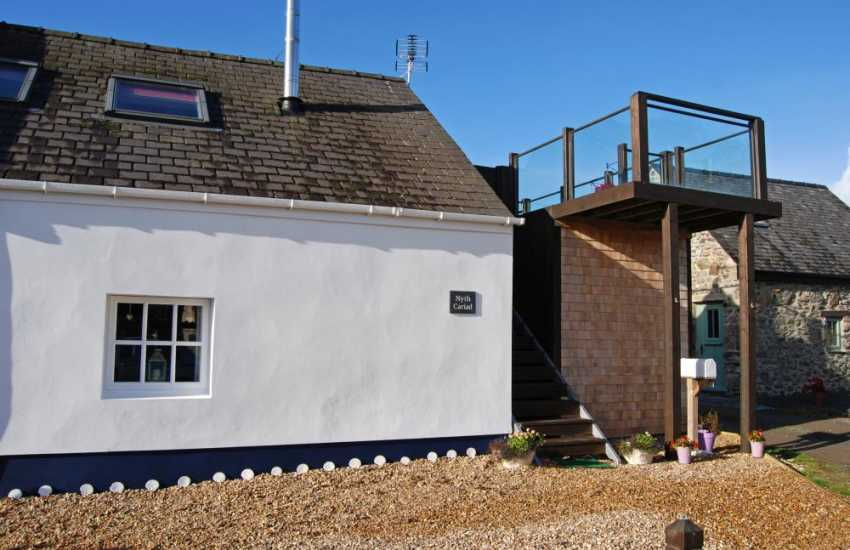 Anglesey coastal cottage for 2 - ext