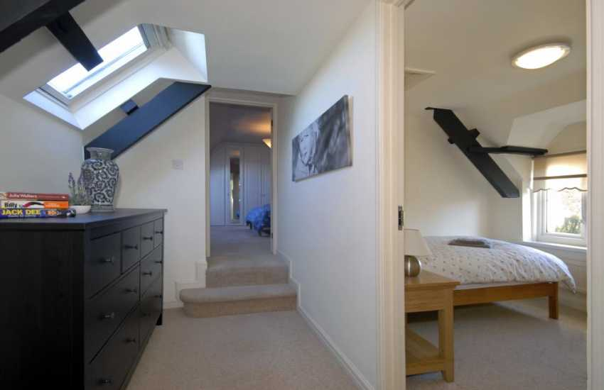 Wolfs Castle, Pembrokeshire holiday home - spacious first floor landing