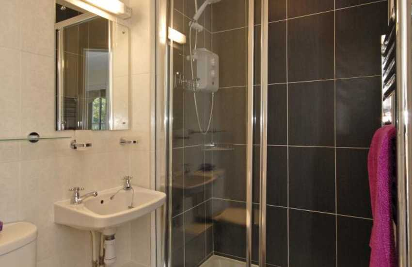 Aberaeron holiday house - double en suite shower room