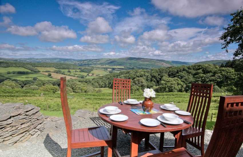 Pet friendly Holiday cottage Rhayader - view