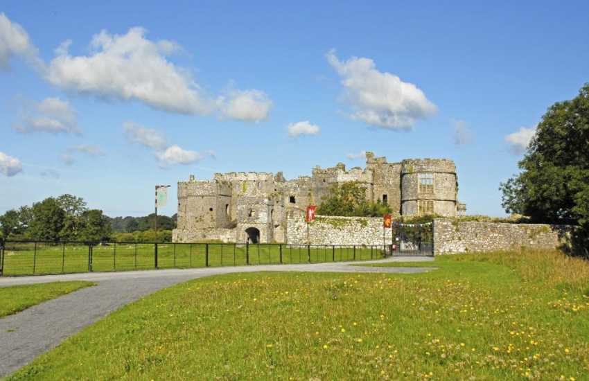 Magnificent Manorbier Castle plus Carew Castle & Tidal Mill are both worth a visit