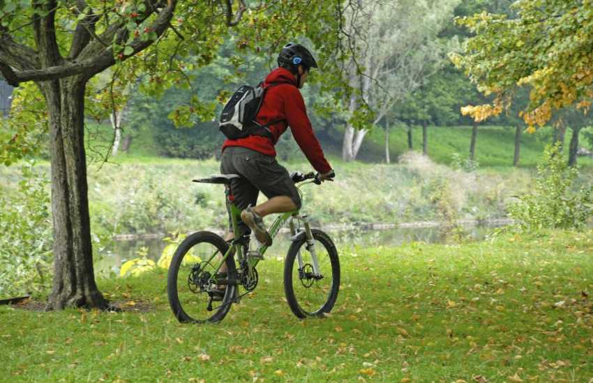 Cycle through Pleasant Valley Heritage Site along the old railway lines and woodland trails