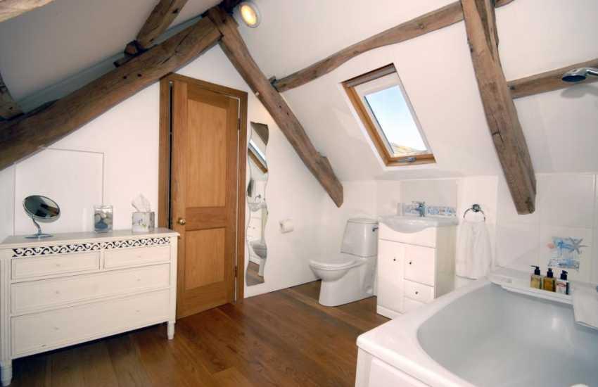 Pembrokeshire Strumble Head holiday home - master en-suite bathroom