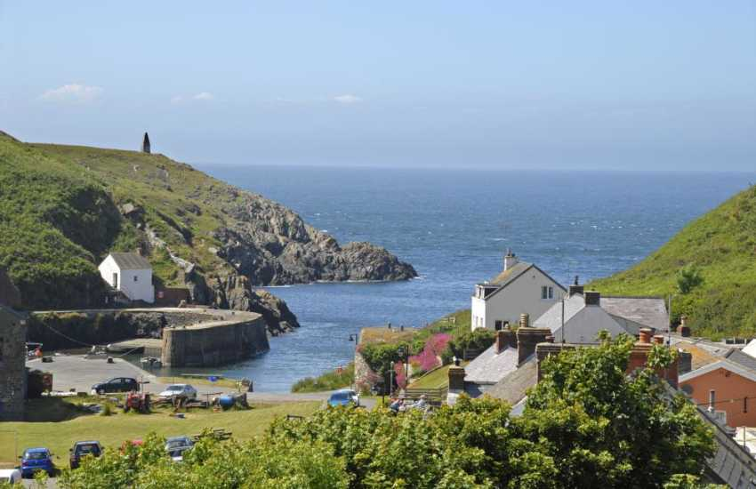 Porthgain - a picturesque harbour fishing village with a pub, restaurant and art gallery