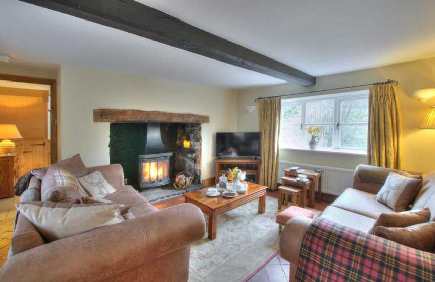 Rural Retreat Brecon - lounge