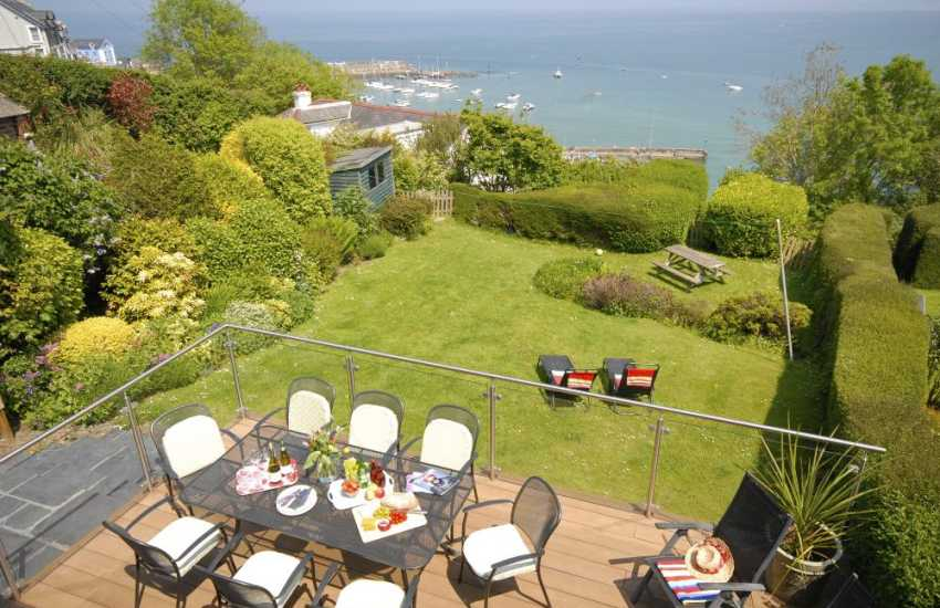 Self catering New Quay Cardiganshire with sea views