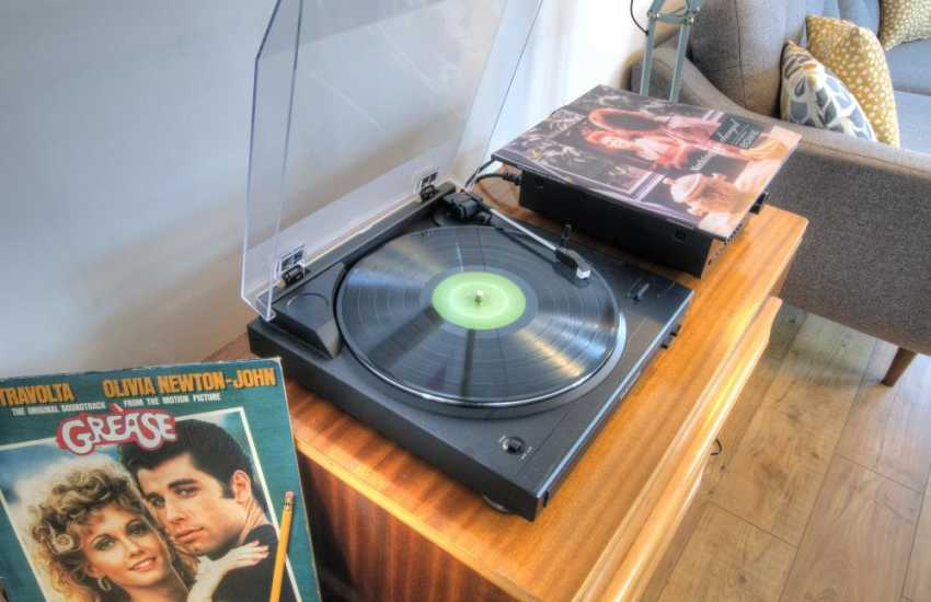 Holiday cottage north wales - record player