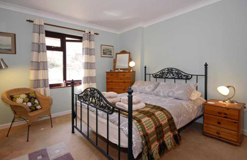 Cwm Tydu cottage sleeping 4 - double with valley views
