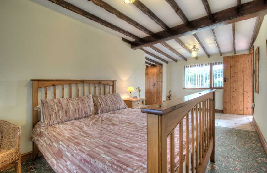 Anglesey holiday cottage master bedroom