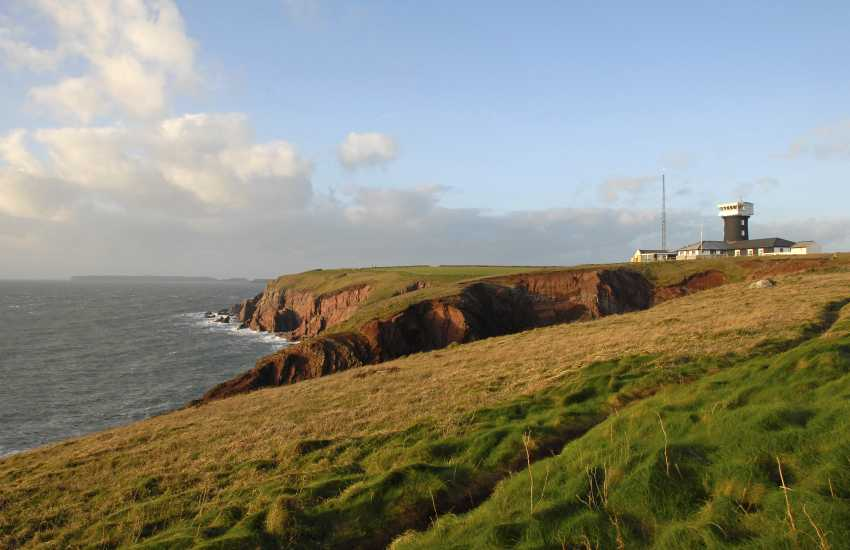 The Old Lighthouse, St Ann's Head - pet friendly holiday home