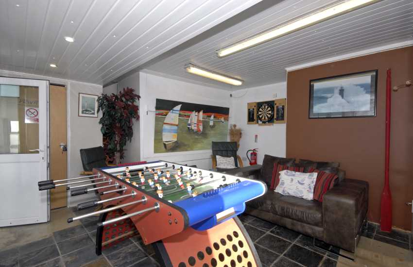 The Old Lighthouse, Dale - games room