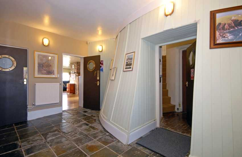 Old Lighthouse, Dale - entrance hall