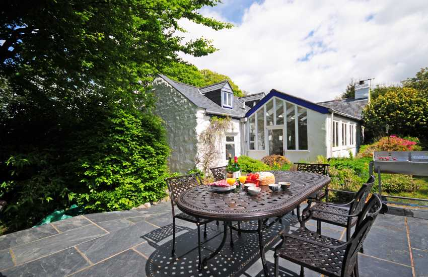 Holiday cottage Harlech - exterior