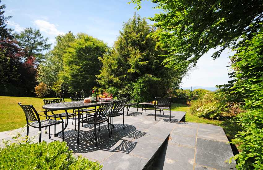 Holiday cottage North wales - garden