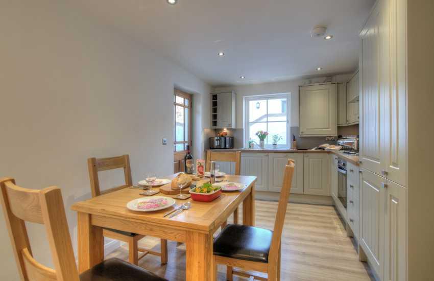 3 bedroomed holiday cottage St Davids - kitchen