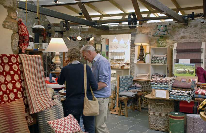 Do visit Solva Woollen Mill and Tea Room - the oldest working mill in Pembrokeshire and open all the year round