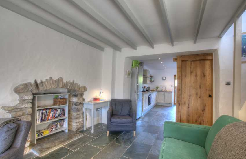 St Davids holiday cottage - lounge