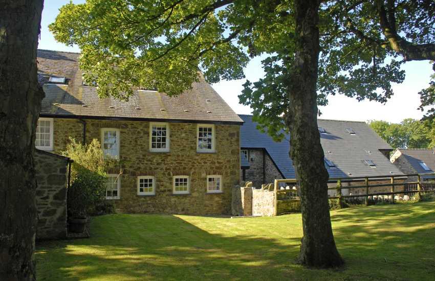 West wing of Lochturffin Manor, North Pembrokeshire