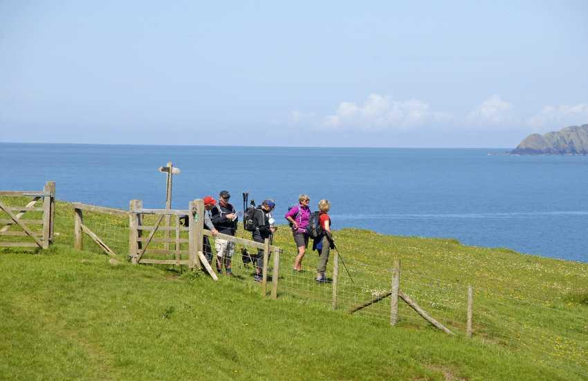 Walk the Pembrokeshire Coast Path and enjoy its spectacular scenery and wonderful wildlife