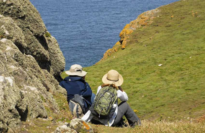 Escape to the Pembrokeshire Coast Path - wonderful cliff top scenery along rugged headlands