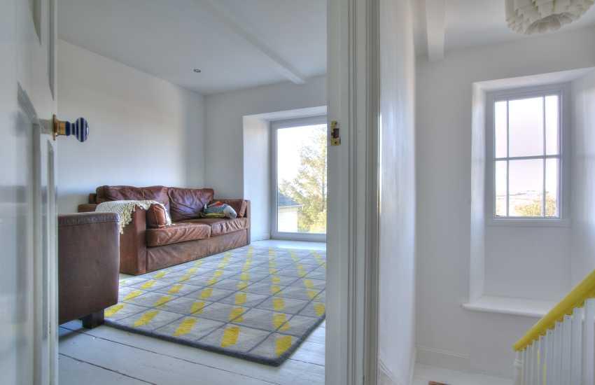 Large luxury holiday house Wales - landing