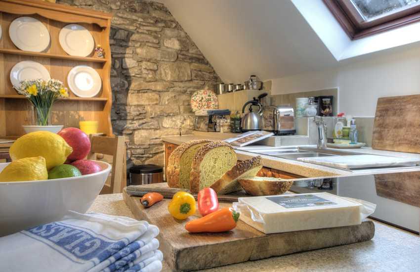 Holiday cottage Crickhowell - kitchen